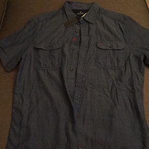 Short Sleeve Button-Down - Buffalo DB